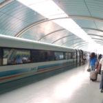 上海旅行記(4) リニアに乗って