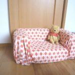子供ソファーを手作りしました