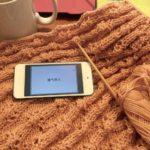 編み物をしながら勉強する方法