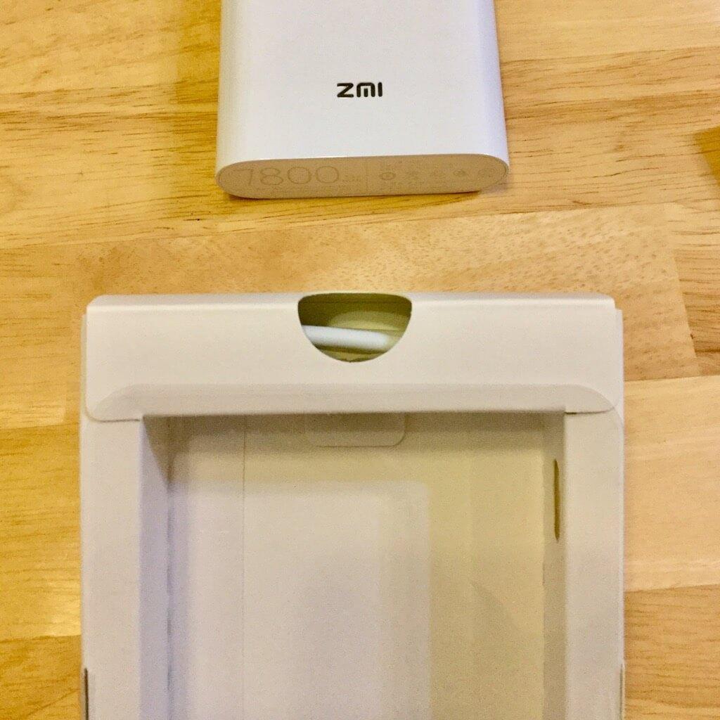 ZMI Battery Wi-Fi MF855 ケーブル