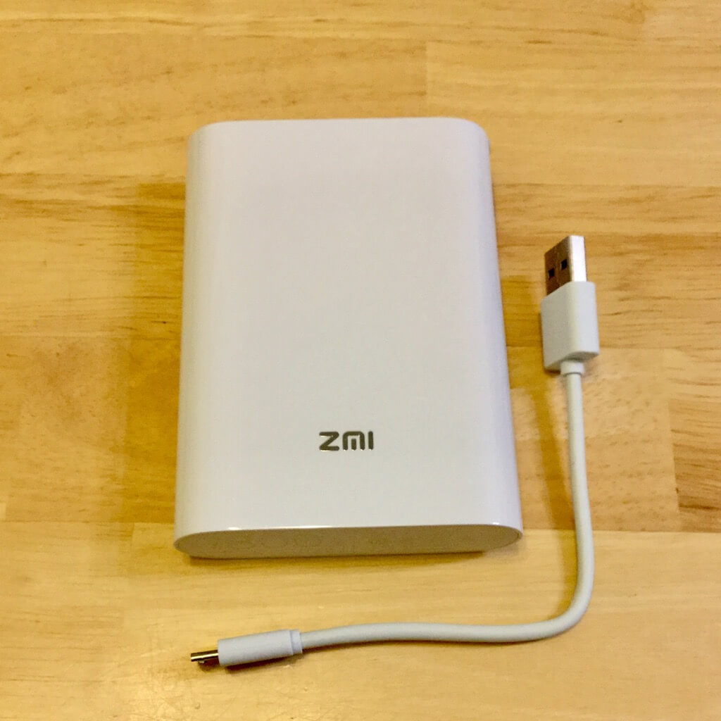 ZMI Battery Wi-Fi MF855 ケーブル