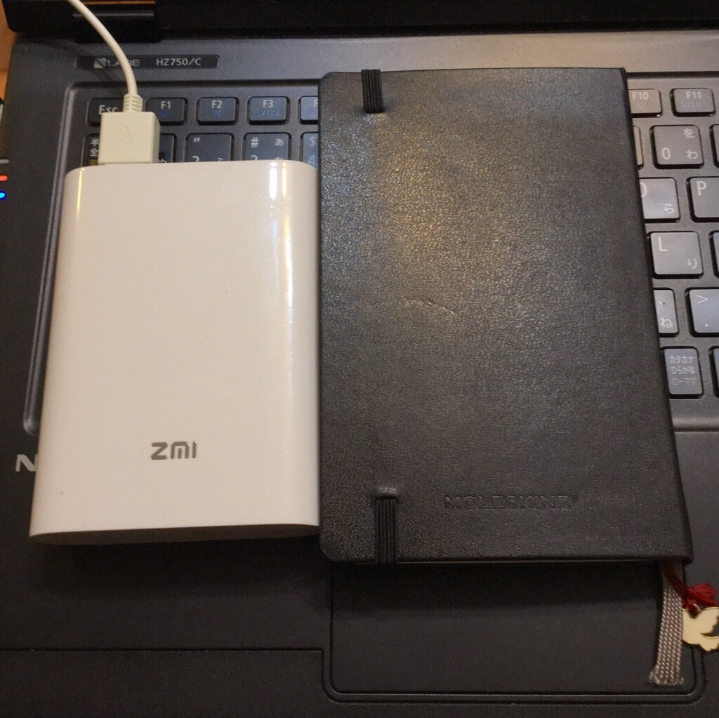 ZMI Battery Wi-Fi MF855 重さ・サイズ