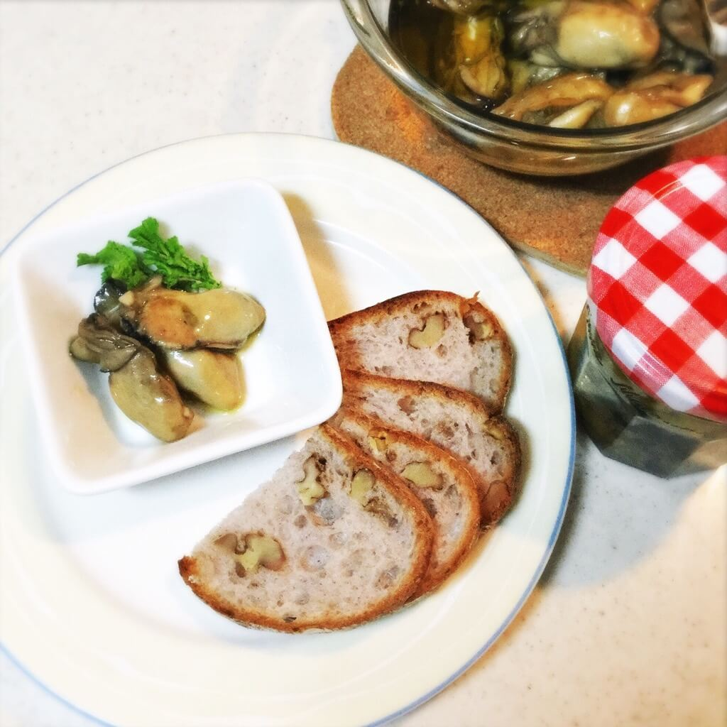 牡蠣のオイル漬けの作り方