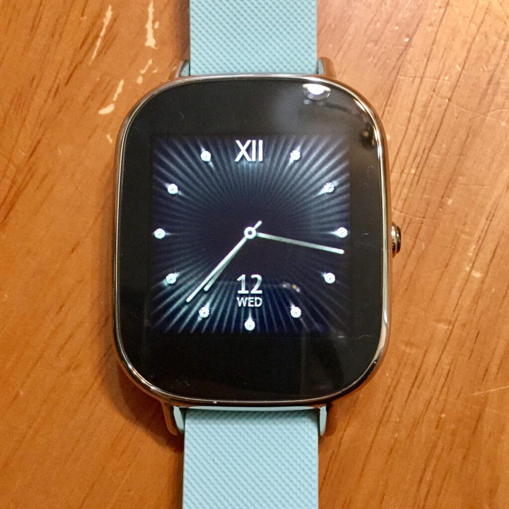 Zenwatch ウォッチフェイス