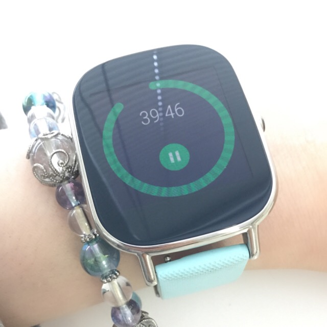 zenwatch Android wear 2.0 タイマー