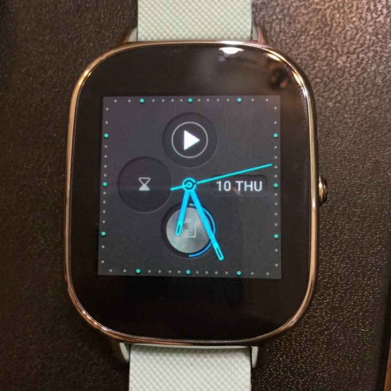 zenwatch Android wear 2.0 ウォッチフェイス