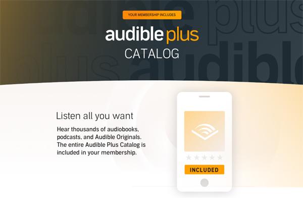 AudiblePlus使い方