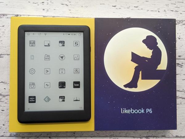 Boyue Likebook P6 外箱