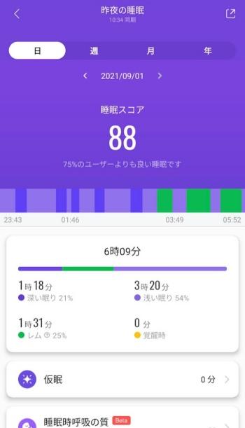Mi Band 6 レビュー